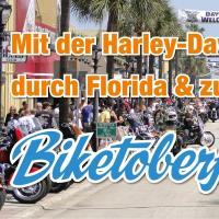USA: Motorrad Event - Biketoberfest in Daytona Beach
